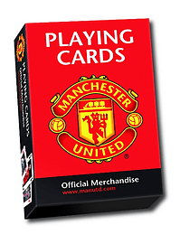 Manchester United Playing Cards Traditional Games