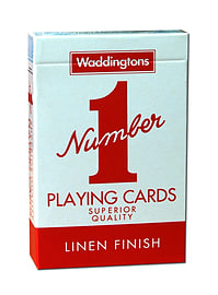 Waddingtons No1 Classic Red Playing Cards Traditional Games