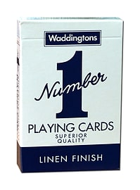 Waddingtons No1 Classic Blue Playing Cards Traditional Games