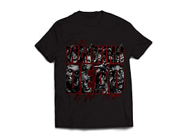 The Walking Dead Zombie Inside Men's T-Shirt - Black (XL) Clothing