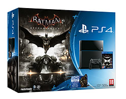 PlayStation 4 Console with Batman Arkham Knight PlayStation 4