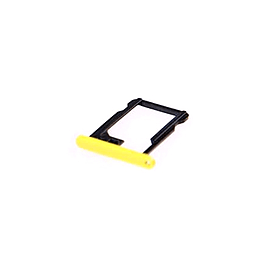 Frostycow Replacement Coloured Nano SIM Card Tray Slot Holder For Apple iPhone 5C Yellow Mobile phones