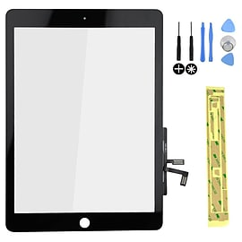 Frostycow Glass Replacement LCD Touch Screen Digitizer For Apple iPad Air 5 Black Tablet