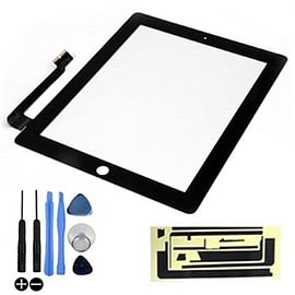 Frostycow Replacement LCD Touch Screen Digitizer For Apple iPad 4 Retina Black Tablet