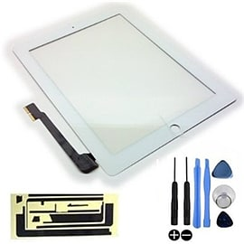 Frostycow Replacement LCD Touch Screen Digitizer For Apple iPad 4 Retina White Tablet