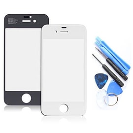 Frostycow Genuine Glass Front Cover Screen Replacement for Apple iPhone 5C White Mobile phones
