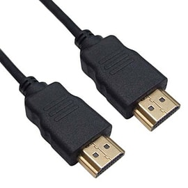 Frostycow Ultra Thin HDMI V1.4 1080P 3D LCD HDTV VIDEO HDMI Gold Cable Lead 1m TV and Home Cinema