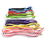 Frostycow 3.5mm to 3.5mm Coloured Noodle Jack Lead IPod Gold Aux Input Wire Cable Pink screen shot 1