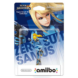 Zero Suit Samus - amiibo - Super Smash Bros Collection Amiibo
