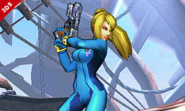 Zero Suit Samus - amiibo - Super Smash Bros Collection screen shot 1