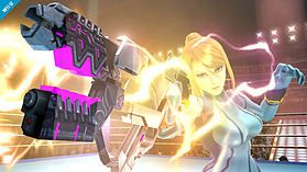 Zero Suit Samus - amiibo - Super Smash Bros Collection screen shot 3