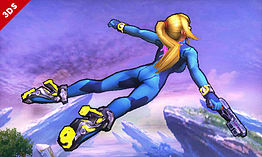 Zero Suit Samus - amiibo - Super Smash Bros Collection screen shot 4
