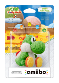 Yarn Yoshi Green - amiibo - Yoshi's Woolly World Collection Amiibo