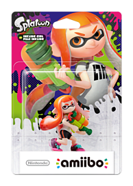 Inkling Girl - amiibo - Splatoon Collection Amiibo