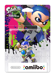 Inkling Boy - amiibo - Splatoon Collection Amiibo