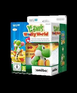 Yoshi's Woolly World with Green Yarn Yoshi amiibo Wii U
