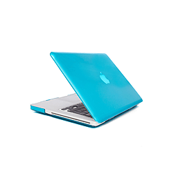 Frostycow Ultra Slim Crystal Cover Case For Apple Macbook Pro Retina 15 Blue PC
