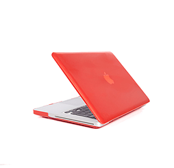 Frostycow Ultra Slim Crystal Cover Case For Apple Macbook Pro Retina 15 Red PC