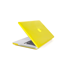 Frostycow Ultra Slim Crystal Cover Case For Apple Macbook Pro Retina 15 Yellow PC