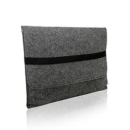 Frostycow Felt Laptop Sleeve Case Cover For Apple For Macbook Pro, Retina & Air 13 Dark Grey PC