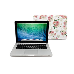 Frostycow Ultra Slim Floral Patterned Cover Case For Apple Macbook Pro Retina 15 PC