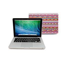 Frostycow Ultra Slim Aztec Patterned Cover Case For Apple Macbook Pro Retina 13 PC