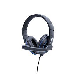 Frostycow X10 Computer PC Laptop Gaming Headset with Microphone Blue PC