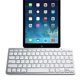 Frostycow Slim Wireless Bluetooth Keyboard For Apple iPad 3 4 Air & Mini Tablet