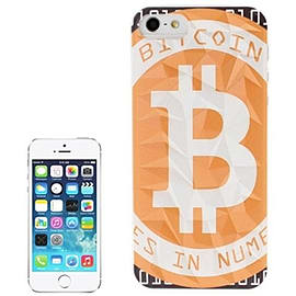 Frostycow Bitcoin Hard Case Back Cover For Apple iPhone 5-5S-5C Mobile phones