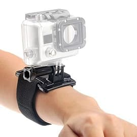 Frostycow Adjustable Elastic Wrist Strap Mount For GoPro HD & Hero 1/2/3 Camera and Photo