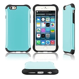 Frostycow Slim Tough Hard Armour Anti Shock Cover Case For New Apple iPhone 6 Blue Mobile phones
