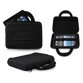 Frostycow Black Hard Shell Carry Case Bag for Apple iPad 2 3 & 4 Retina Tablet
