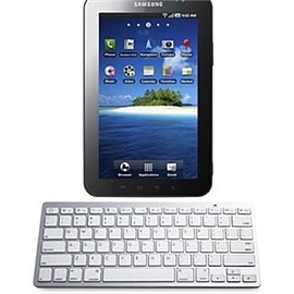 Frostycow Slim Wireless Bluetooth Keyboard For Samsung Galaxy Note 10.1 & Tab 2 Tablet Tablet