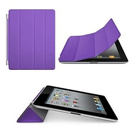 Frostycow Ultra Slim Magnetic Smart Case For Apple iPad 2, 3 & 4 Retina Purple Tablet