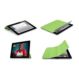 Frostycow Ultra Slim Magnetic Smart Case For Apple iPad 2, 3 & 4 Retina Green Tablet