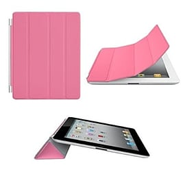 Frostycow Ultra Slim Magnetic Smart Case For Apple iPad 2, 3 & 4 Retina Pink Tablet