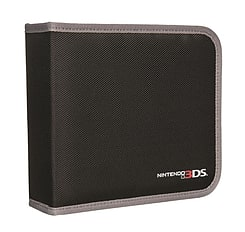 Nintendo Licensed Universal Folio Case - Black (3DS XL, 3DS, 2DS, DSi XL, DSi, DS Lite) 3DS