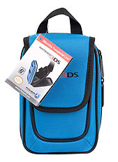 Nintendo Licensed Mini Elite Transporter Case - Blue (3DS, Dsi, DS Lite) 3DS