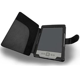 Frostycow Black PU Leather Case For Amazon Kindle 4 4th Generation Tablet