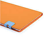 Frostycow Multi Colour Wallet Flip Case For Apple iPad 2 3 4 Orange and Blue screen shot 2