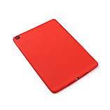 Frostycow Slim Gel Silicone Back Case Cover For Apple iPad 6 Air 2 & Screen Protector Red screen shot 1