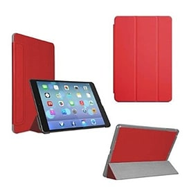 Frostycow Ultra Slim Magnetic Smart Case For Apple iPad 5 Air Red Tablet