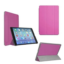 Frostycow Ultra Slim Magnetic Smart Case For Apple iPad 5 Air Pink Tablet