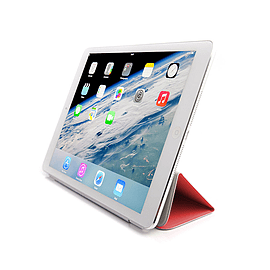 Frostycow Premium Ultra Slim Magnetic Smart Case For Apple iPad 5 Air / iPad 6 Air 2 Red Tablet