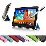 Frostycow Ultra Slim PU Leather Smart Case For Samsung Galaxy Tab 2 10.1 P5100 P5110 Blue screen shot 1