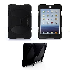 Frostycow Military Heavy Duty Anti Shock Case Cover With Stand for Apple iPad Air Black Tablet