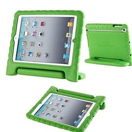 Frostycow Rubber Shock Resistant Easy Hold Children's Case For Apple iPad Air 5 Green Tablet