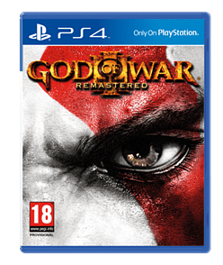 God of War III Remastered PlayStation 4 Cover Art