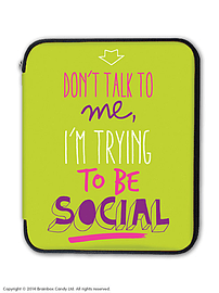 Trying to be social iPad / Tablet Case Tablet