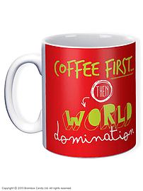 World Domination Mug Home - Tableware